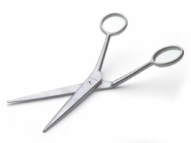 Nasco Cranked scissors